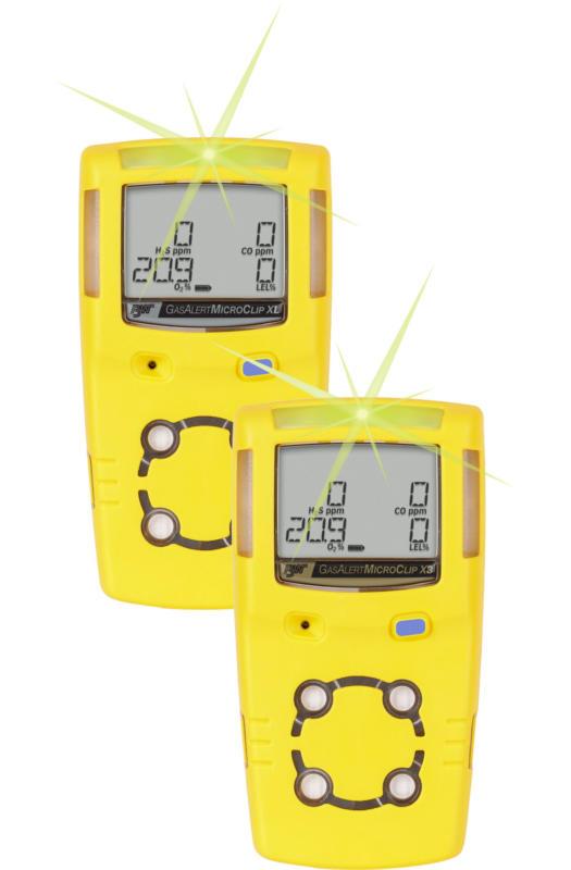 GasAlert MicroClip XL and X3