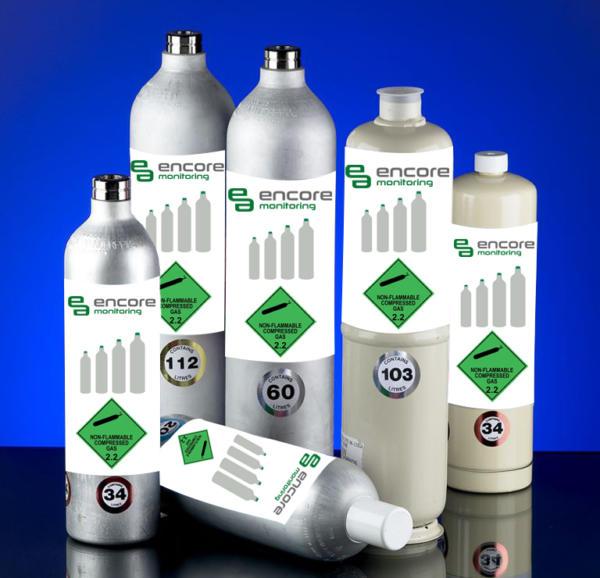 Encore gas bottles