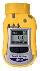 Toxi RAE pro PID yellow front view