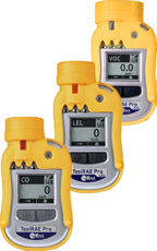 ToxiRAE Pro CO, LEL, and VOC Portable Gas Detector